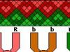 Схема косого плетения ко Дню Святого Валентина