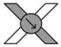 Изображение правого узла на схеме фенечки