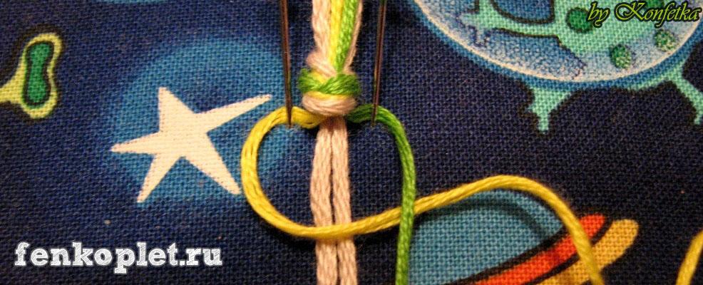 Узелки которыми плетут фенечки