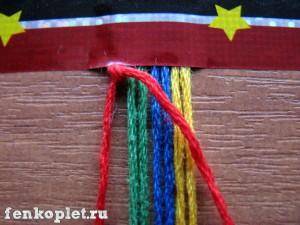Урок плетения феньки лесенки