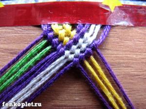 Разные виды плетения фенечек