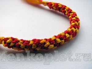 Плетение жгутов из лент