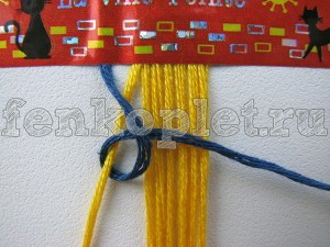 Плетение фенечек с именем