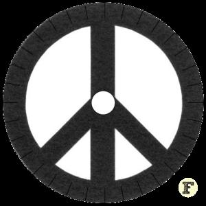 Шаблон станка кумихимо Peace Мир 16 нитей