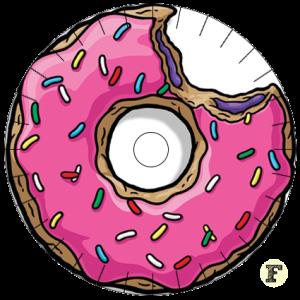 Шаблон станка кумихимо Пончик Donut 16 нитей