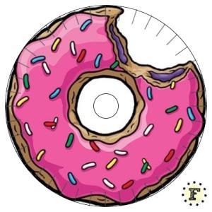 Шаблон станка кумихимо Пончик 20 нитей