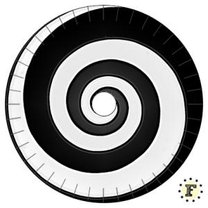 Шаблон станка кумихимо Спираль 20 нитей