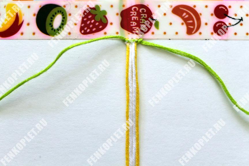Плетение фенечек узлами