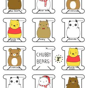 Бобины Chubby bears