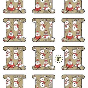 Бобины снеговики