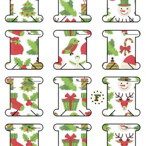 Бобины Рождество