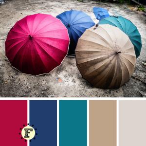 Палитра зонтики