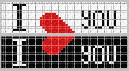 Схемы фенечек ко Дню Святого Валентина