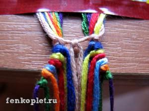 Карамельное плетение