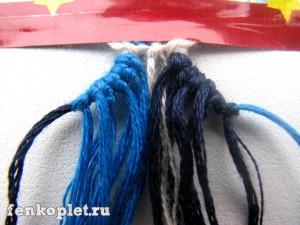 Плетение фенечек конфеткой