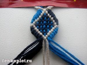 Плетение конфетки