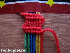 Урок плетения феньки-лесенки