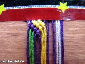 Плетение необычных фенечек