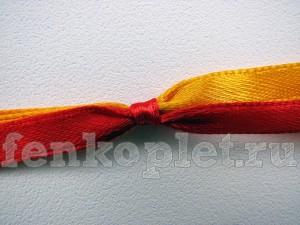 Как завязать узел на лентах
