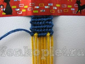 Плетение фенечек с именами