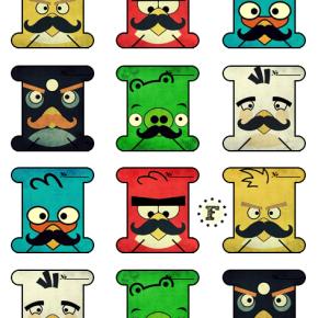 """Бобины """"Angry Birds"""""""